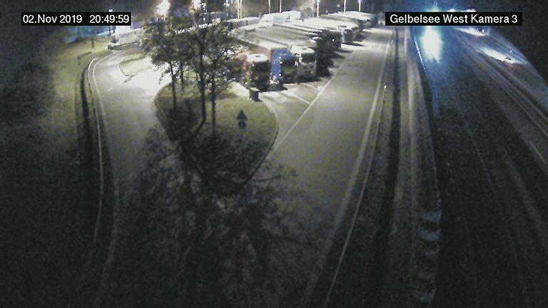 A9 Gelbelsee West - FR München - BlickrichtungNord-Westen, km 436 - Germany