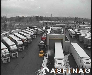bei Anschlussstelle ÖBB Terminal Wels - LKW Stellplatz - km 13,0 - LKW Stellplatz - km 13,0 - Germany