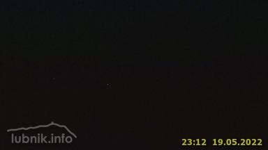 Lubnik - Pogled proti Ratitovcu in Triglavu. - Slovenia