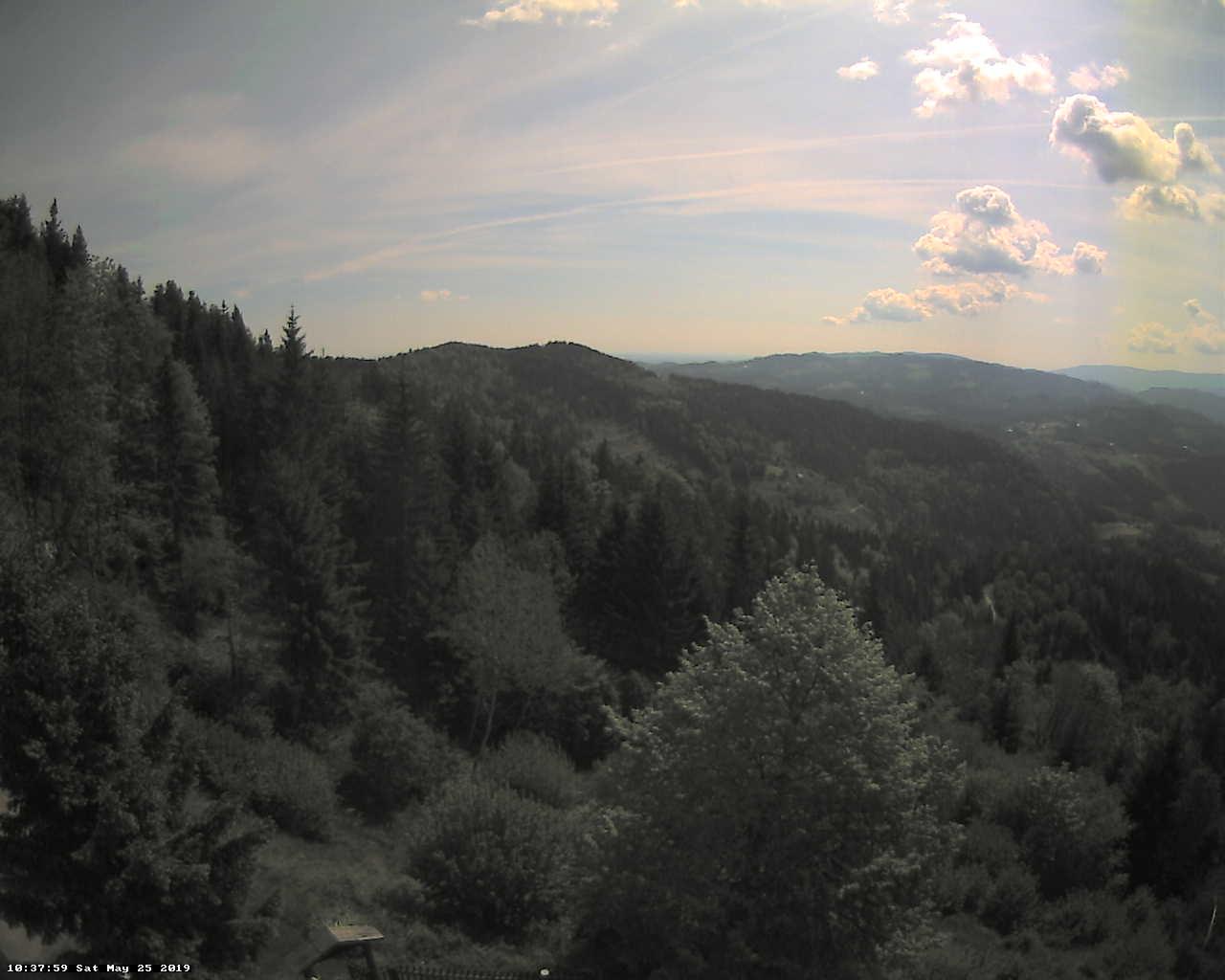 Kapunar, Pogled s Kapunarja - Slovenia