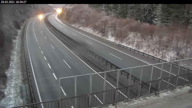 A1/E61/E70, Ljubljana - Koper, nadvoz Štampetov most - Slovenia