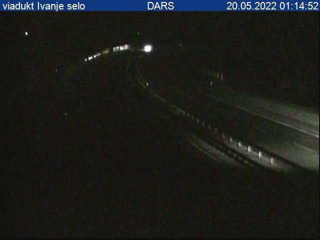 A1/E61/E70, Ljubljana - Koper, viadukt Ivanje selo - Slovenia