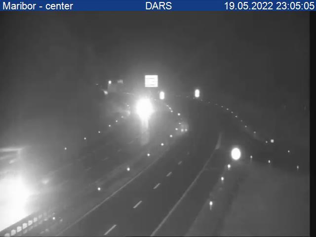 A1/E57, Maribor - Ljubljana, priključek Maribor - center - Slovenia