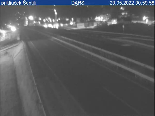 A1/E57/E59, Šentilj - Maribor, priključek Šentilj - Slovenia