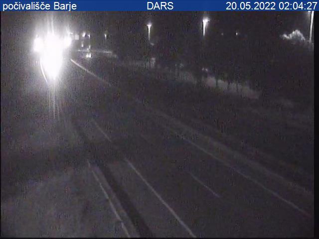 A1/E70, Ljubljana - južna obvoznica, počivališče Barje - Slovenia