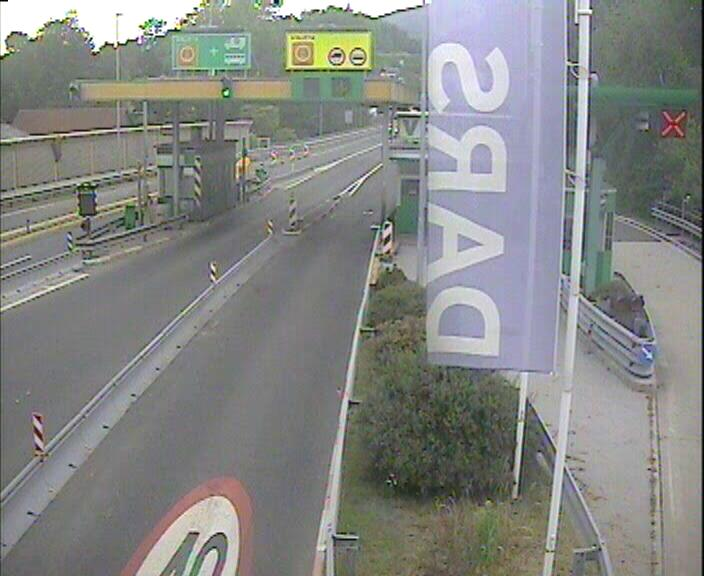 A1/E61/E70, Ljubljana - Koper, cestninska postaja Vrhnika - Slovenia