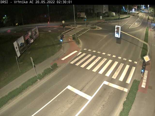 R2-409, Brezovica – Vrhnika, Vrhnika AC priključek - Slovenia