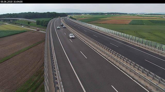 A4, Maribor - Podlehnik, viadukt Hajdina - Slovenia