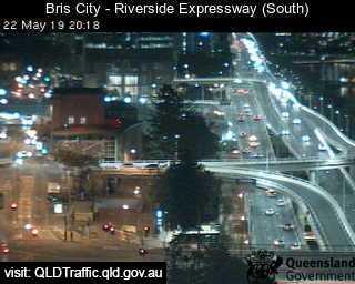 Brisbane City - Riverside Expressway - South - SouthEast - Brisbane City - Metropolitan - Australia