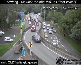 Toowong - Mt Coot-tha & Miskin St - West - West - Toowong - Metropolitan - Australia