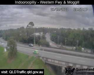 Indooroopilly - Western Fwy & Moggill Rd - West - West - Indooroopilly - Metropolitan - Australia