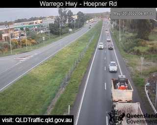 Bundamba - Warrego Hwy near Hoepner Rd - West - West - Bundamba - Metropolitan - Australia