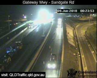 Boondall - Gateway Mwy over Sandgate Rd - East - East - Boondall - Brisbane City - Metropolitan - Australia