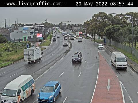 Hume Highway (Bankstown) - Corner of Hume Highway and Stacey Street looking east towards Strathfield. - E - SYD_SOUTH - Australia