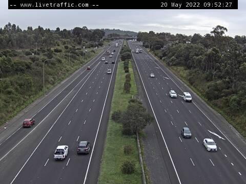 Hume Motorway (St Andrews) - Corner of Hume Motorway and Raby Road looking north towards Liverpool. - N - SYD_SOUTH - Australia