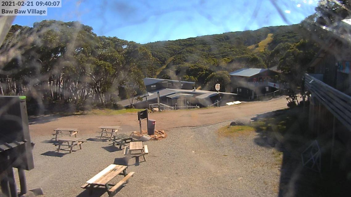 Village - Mt Baw Baw Snow Cam - Australia