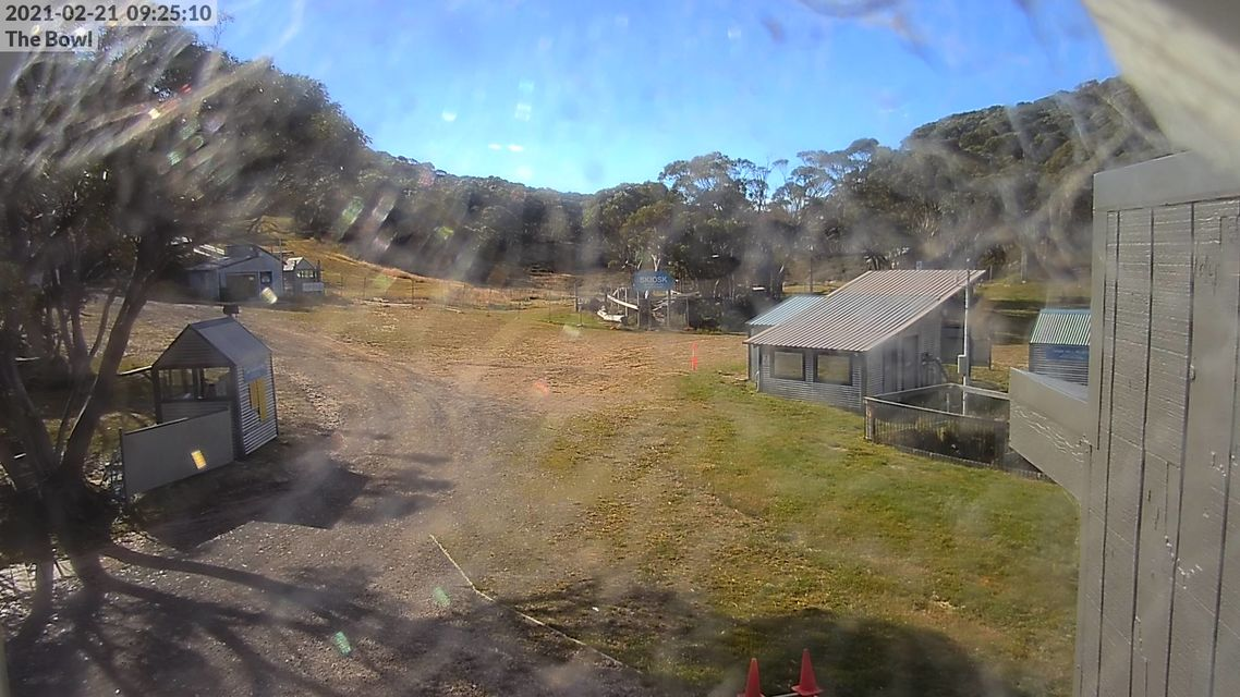 The Bowl - Mt Baw Baw Snow Cam - Australia