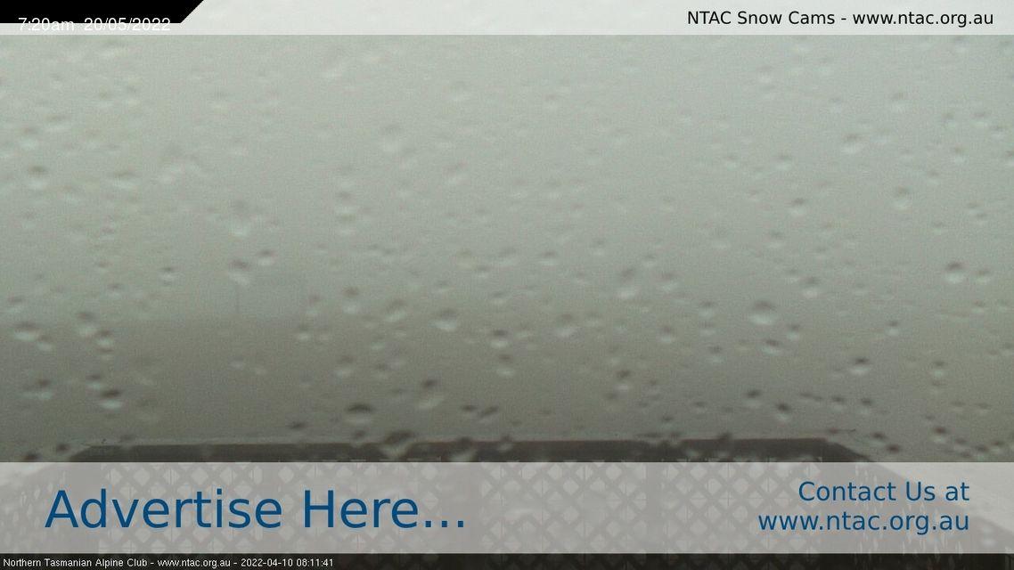 Top Slopes - Ben Lomond Snow Cam - Australia