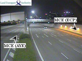 View from MCE 1.02km - MARINA COASTAL EXPRESSWAY (MCE) - Singapore