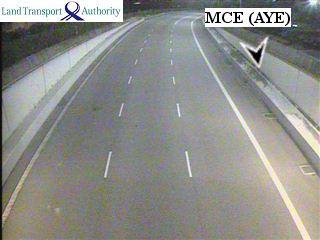 View from MCE/ECP - MARINA COASTAL EXPRESSWAY (MCE) - Singapore