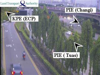 View from Kallang Bahru - Kallang-Paya Lebar Expressway (KPE) - Singapore