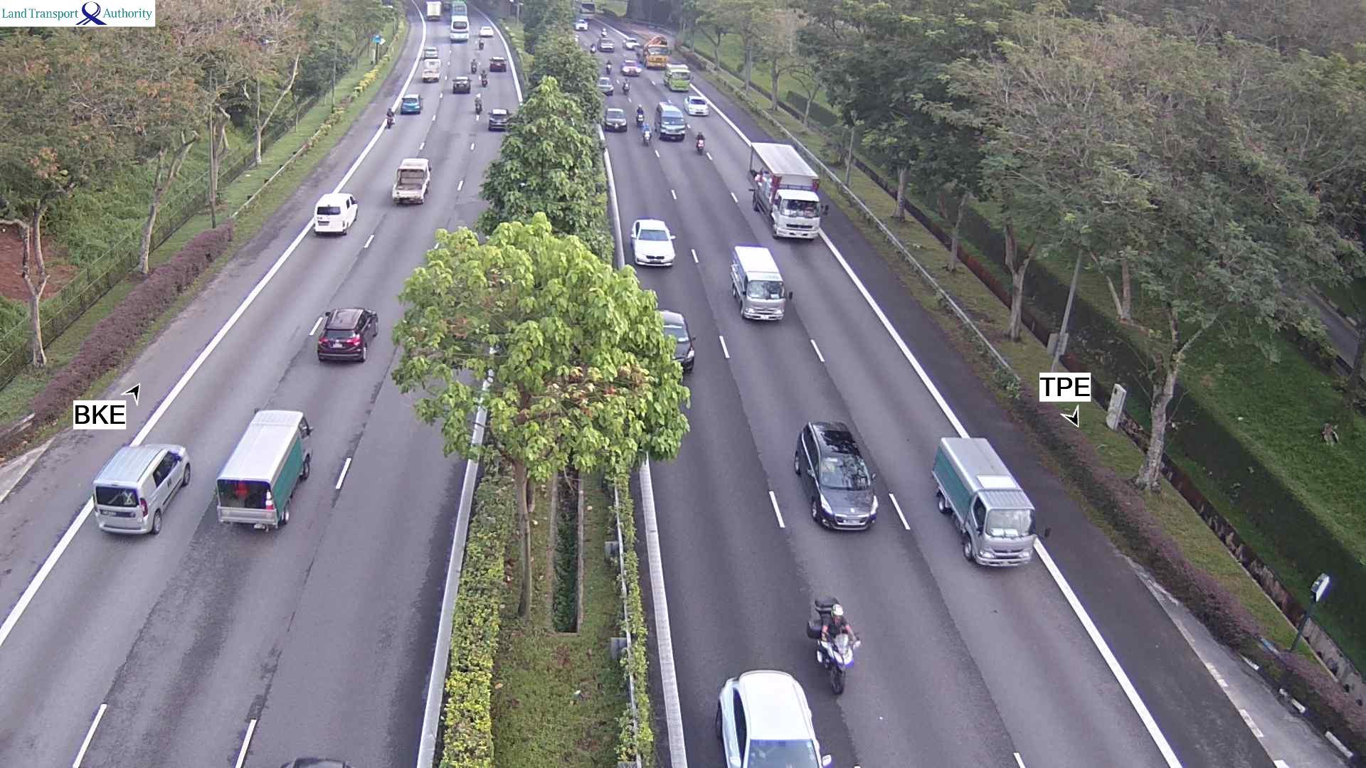 View from Mandai Flyover - Seletar Expressway (SLE) - Singapore