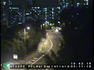Pok Fu Lam Road near Smithfield Road - Hong Kong