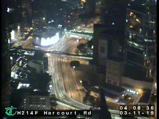 Harcourt Road near Red Cross Headquarter - Hong Kong