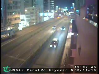 Canal Road Flyover near Gloucester Road - Hong Kong
