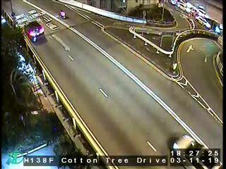 Cotton Tree Drive near Murray Building - Hong Kong
