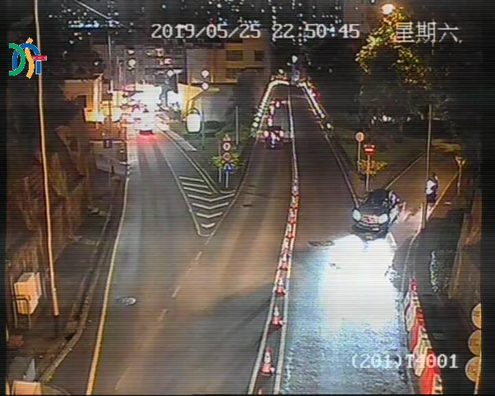 Guia Tunnel leading to Avenida de Horta e Costa - Macau