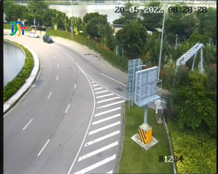 Rotunda dos Jogos da Ásia Oriental (leading to the entrance of Ponte de Sai Van) - Macau