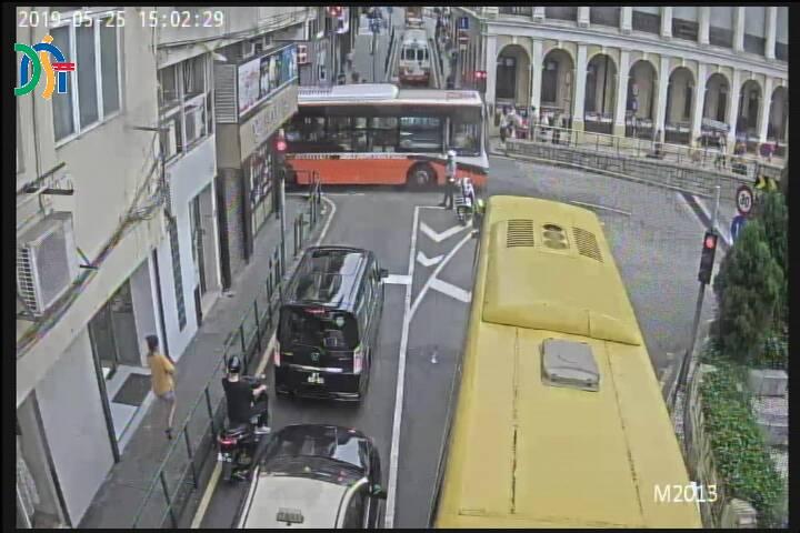 Intersection between Rua Filipe O''Costa and Avenida do Conselheiro Ferreira de Almeida - Macau