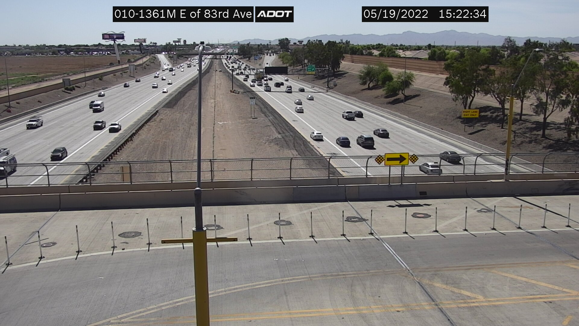 E of 83rd Ave M (I10) (002) - Phoenix and Arizona