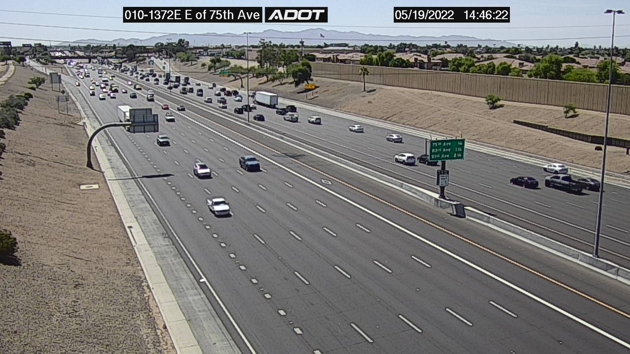 E of 75th Ave EB (I10) (003) - Phoenix and Arizona