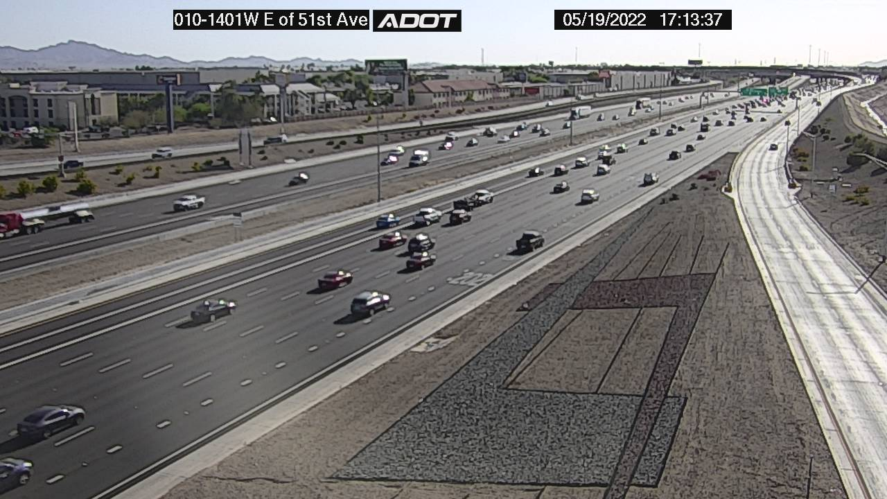E of 51st Ave WB (I10) (006) - Phoenix and Arizona