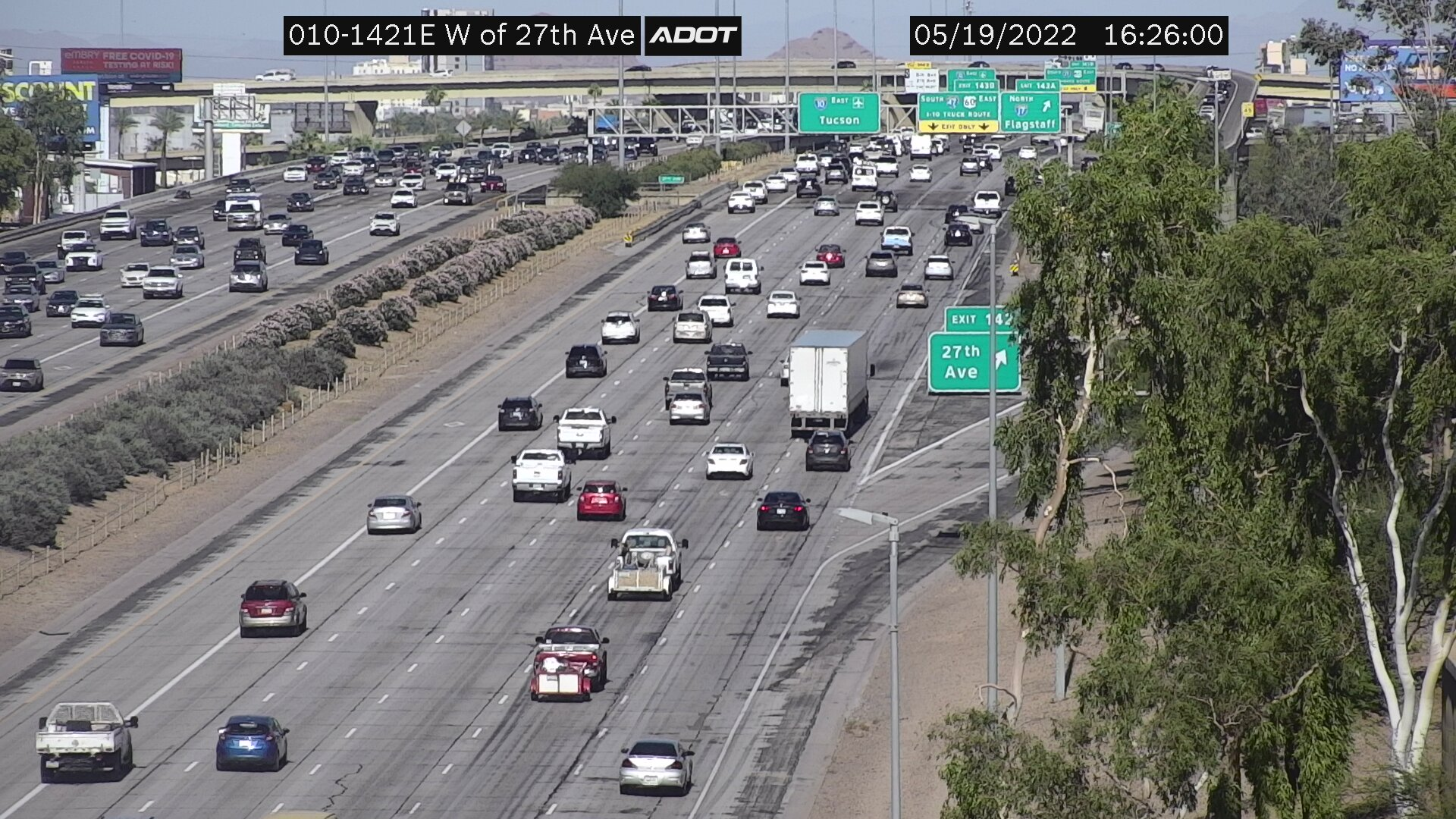 E of 35th Ave EB (I10) (008) - Phoenix and Arizona