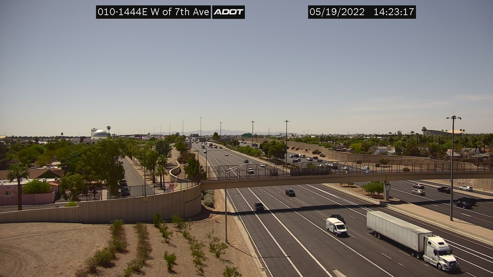 W of 7th Ave EB (I10) (011) - Phoenix and Arizona