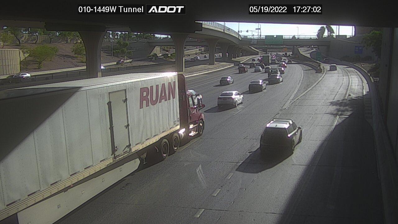 Tunnel WB (I10) (012) - Phoenix and Arizona