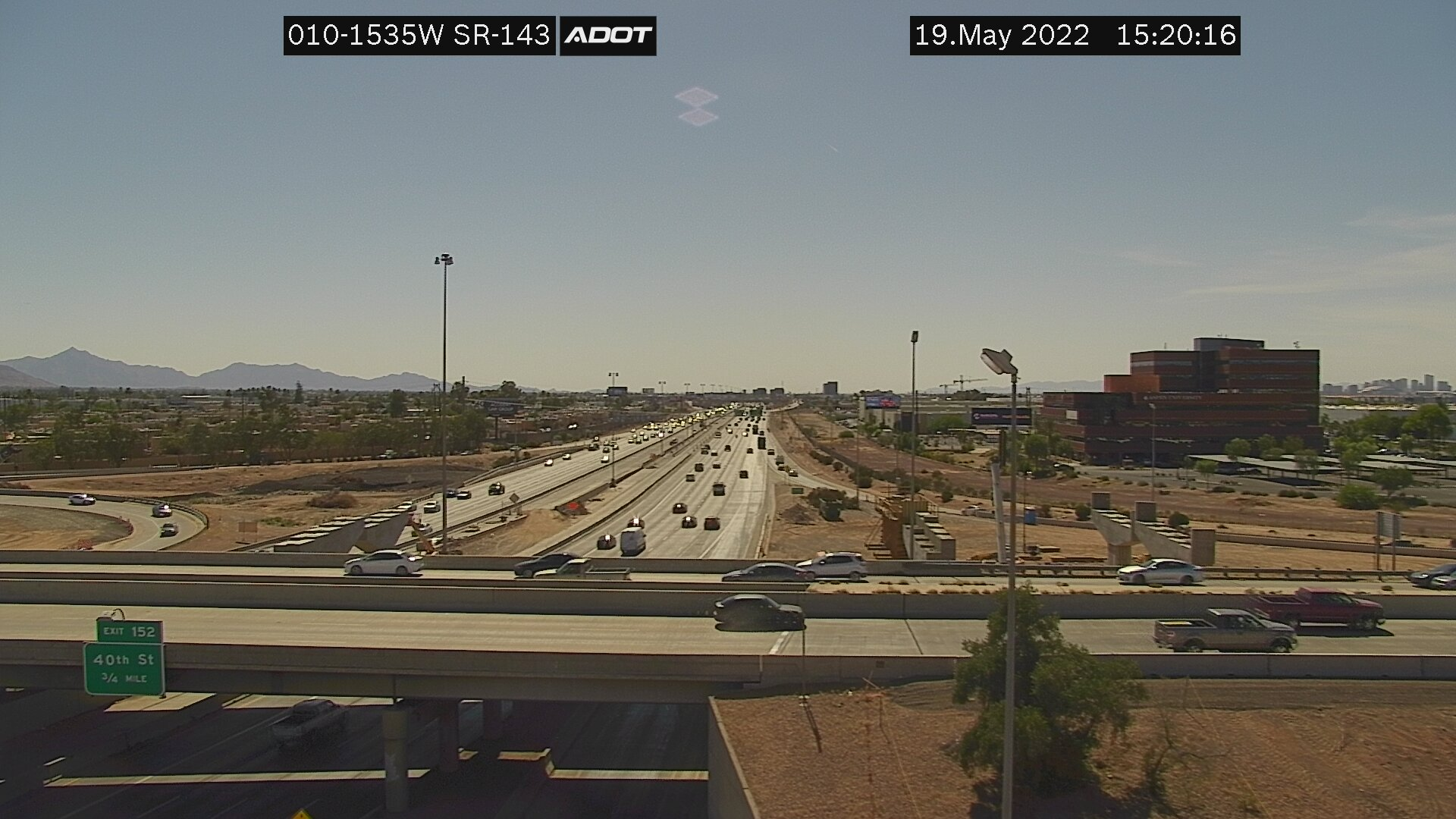 48th St/SR-143 WB (I10) (030) - Phoenix and Arizona