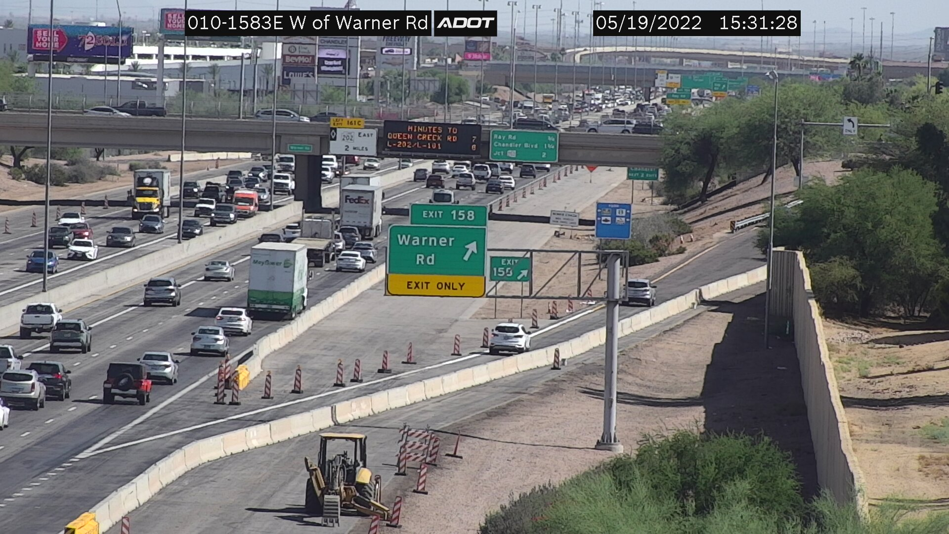 W of Warner EB (I10) (035) - Phoenix and Arizona
