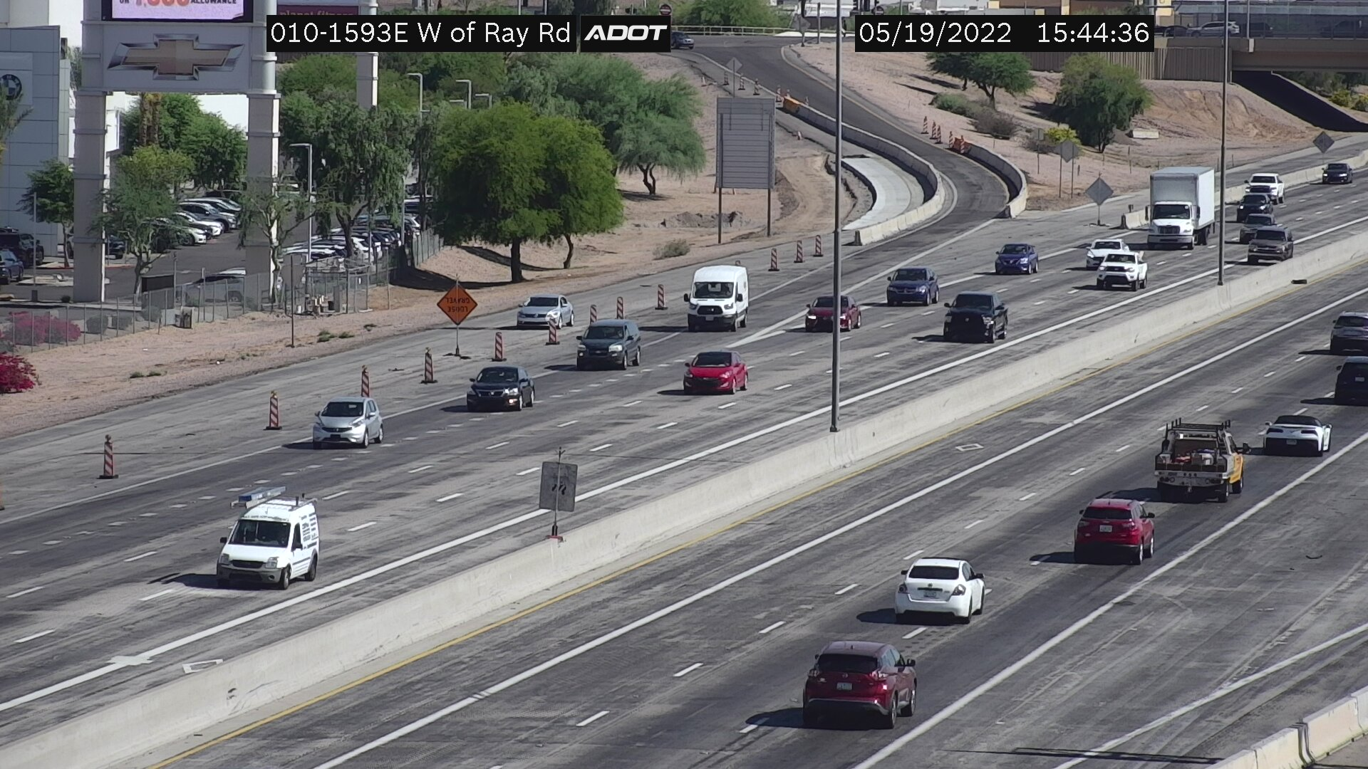 W of Ray EB (I10) (036) - Phoenix and Arizona