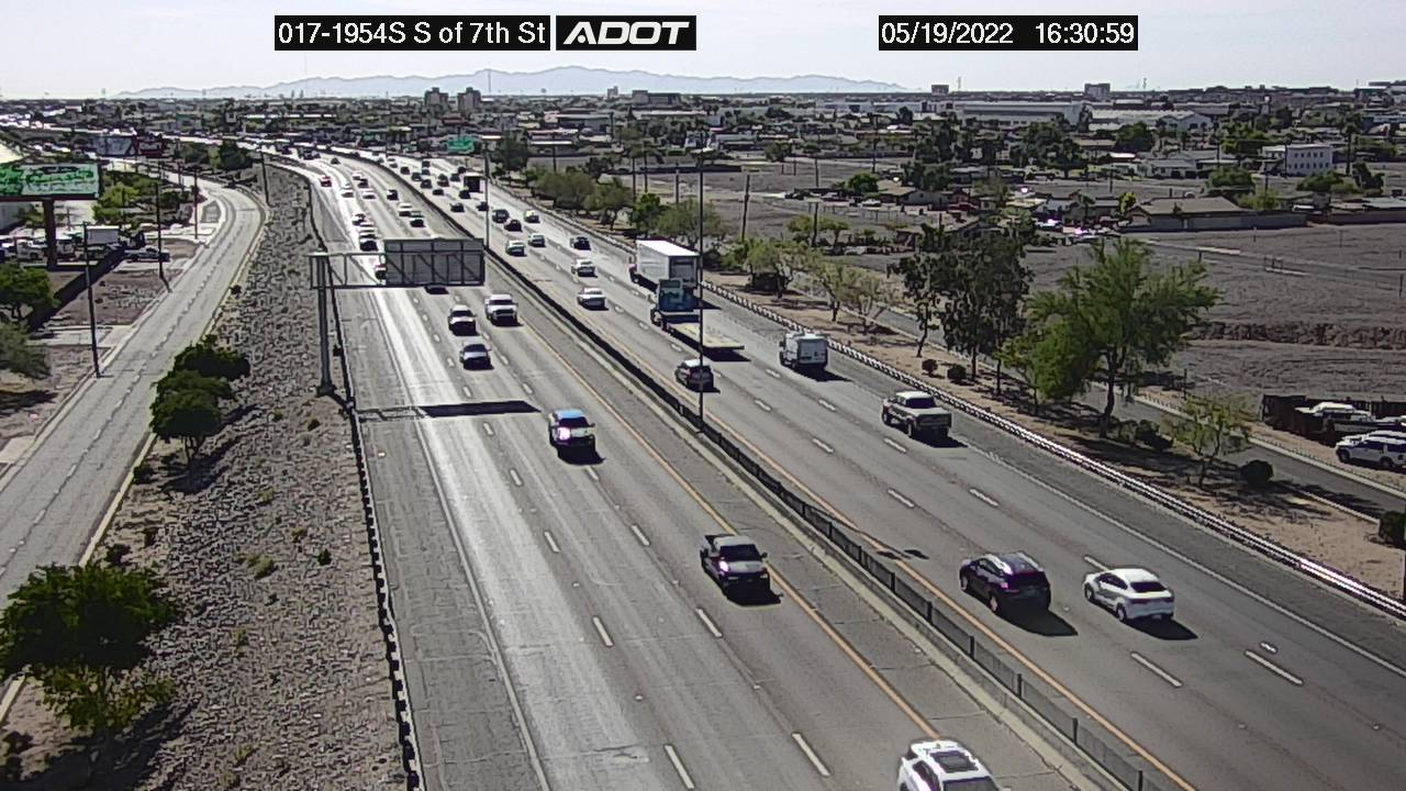 S of 7th St SB (I17) (048) - Phoenix and Arizona