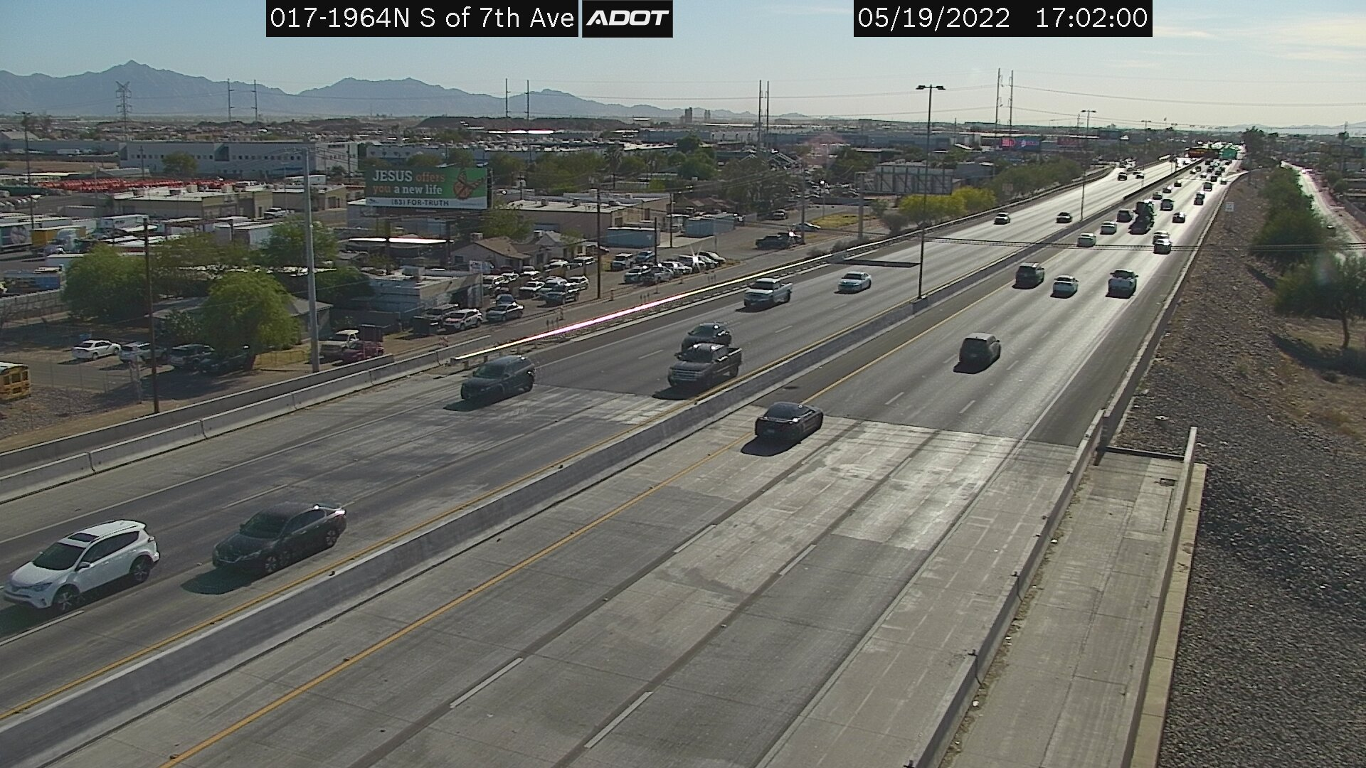 S of 7th Ave SB (I17) (049) - Phoenix and Arizona