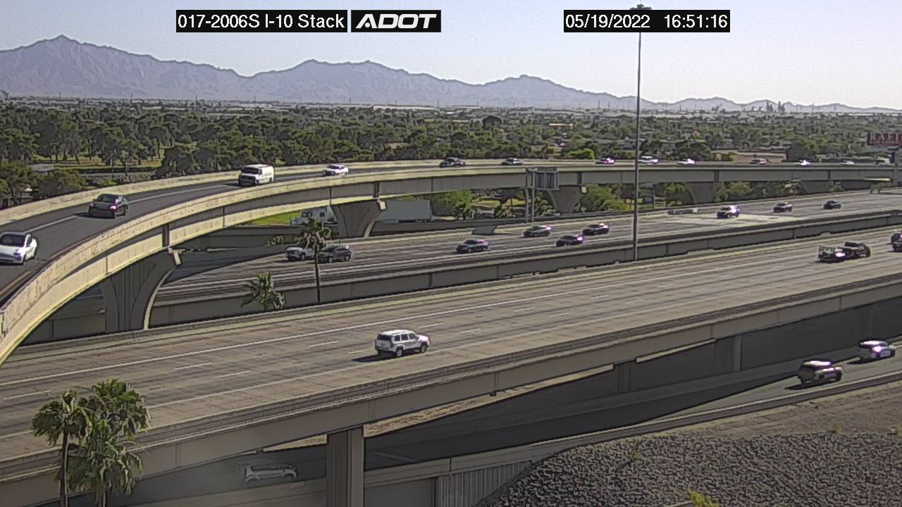 I-10 Stack SB (I17) (054) - Phoenix and Arizona
