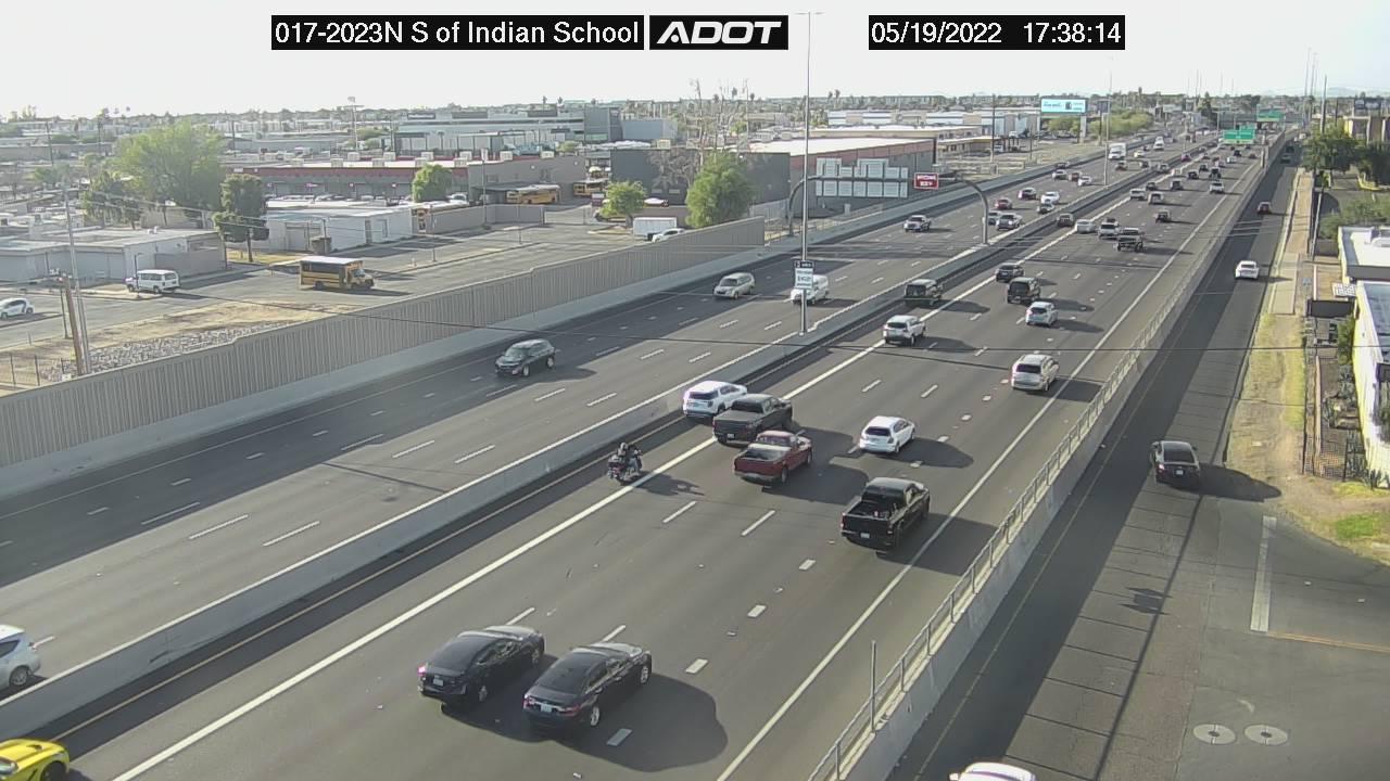 S of Indian School NB (I17) (057) - Phoenix and Arizona