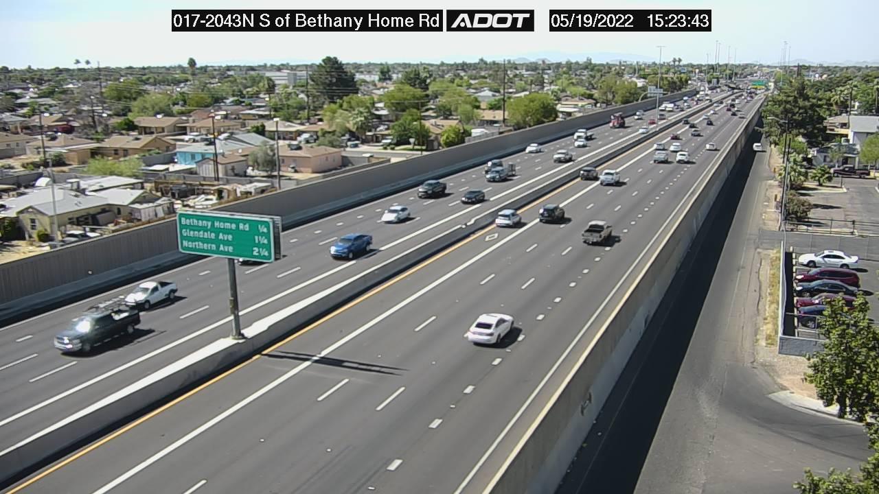 S of Bethany Home NB (I17) (059) - Phoenix and Arizona
