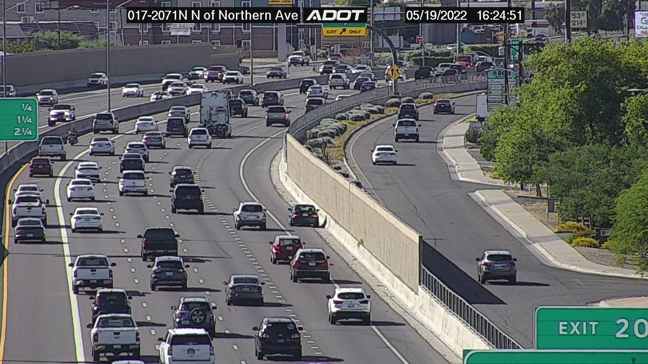 N of Northern NB (I17) (063) - Phoenix and Arizona