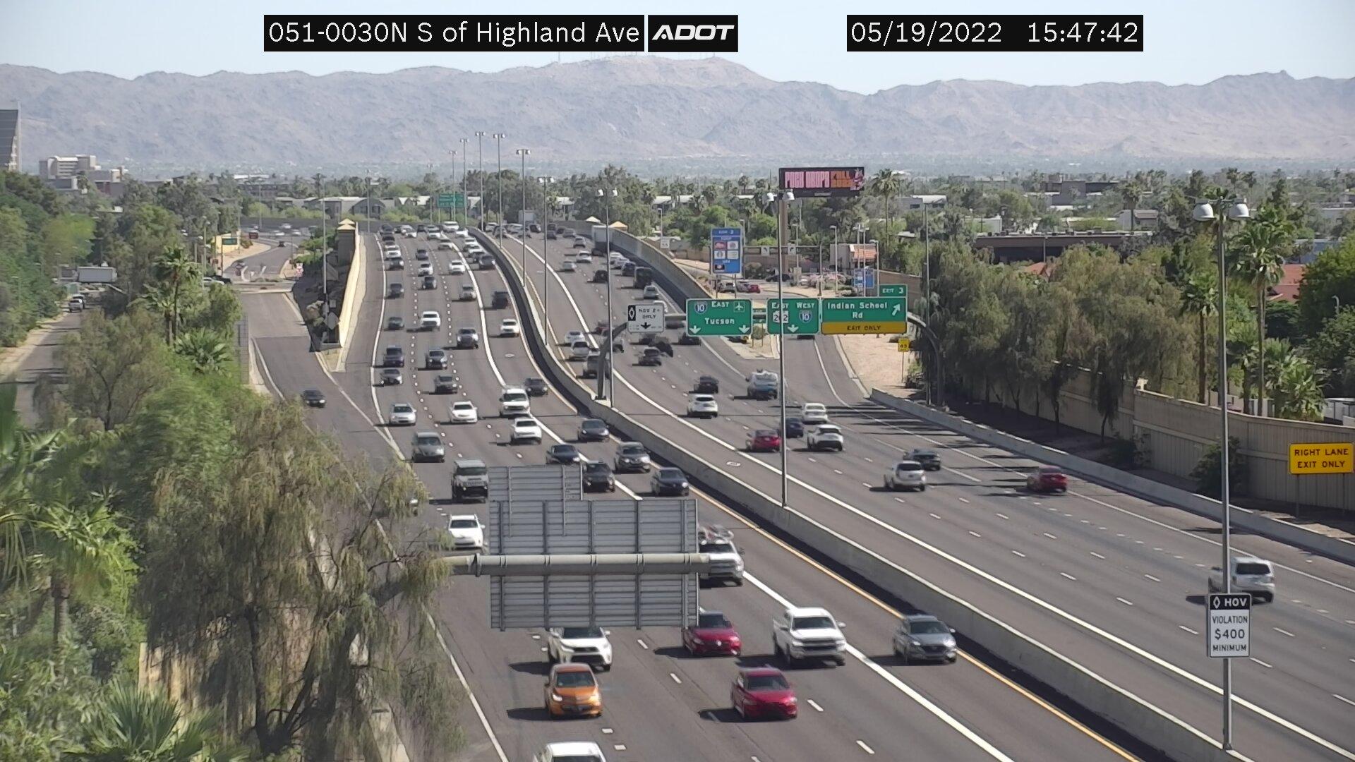 S of Highland NB (SR51) (077) - Phoenix and Arizona