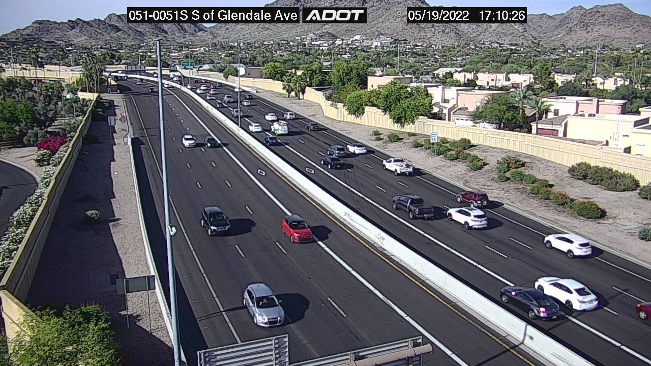 S of Glendale SB (SR51) (080) - Phoenix and Arizona